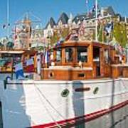 Victoria Wooden Boat Show Poster