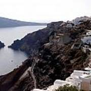 Views Of Santorini Greece Poster
