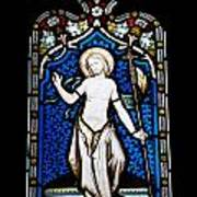 Religious Stained Glass Window Poster