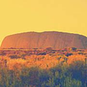 Uluru Poster
