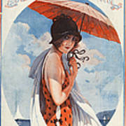 La Vie Parisienne  1924 1920s France Poster by The Advertising Archives
