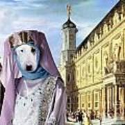 Bull Terrier Art Canvas Print Poster