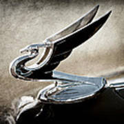 1935 Chevrolet Hood Ornament Poster