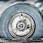 1956 Ford Thunderbird Spare Tire Poster