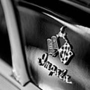 1958 Chevrolet Impala Emblem Poster