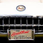 1959 Chevy Corvette Poster