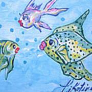 Art Fish Poster