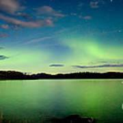Aurora Borealis Northern Lights Display Poster