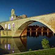 Avignon Bridge Poster