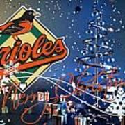 Baltimore Orioles Poster by Joe Hamilton