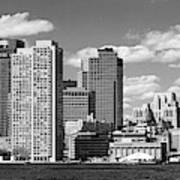 Buildings At The Waterfront, Boston Poster