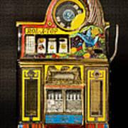 5 Cent Slot Machine Poster
