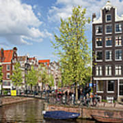 City Of Amsterdam Cityscape Poster