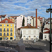 City Of Lisbon In Portugal Poster