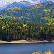 Crystal Lake On Pikes Peak Poster