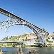 Dom Luis Bridge Porto Portugal Poster