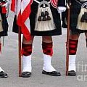 English Uniforms Poster