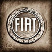 Fiat Emblem Poster
