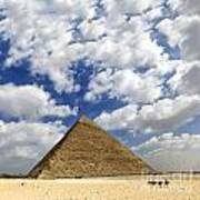 Great Pyramid Of Egypt Poster