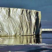 Iceberg In The Ross Sea Antarctica Poster