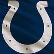 Indianapolis Colts Uniform Poster