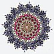 Kaleidoscope Colorful Jeweled Rhinestones Poster