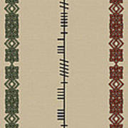 Mccarthy Written In Ogham Poster