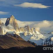 Mount Fitzroy, Argentina Poster