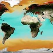 Ocean Carbonate Saturation Poster
