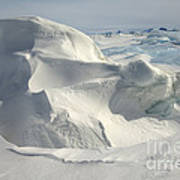 Pack Ice, Antarctica Poster
