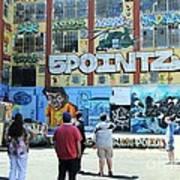 5 Pointz Graffiti Art 3 Poster