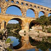 Pont Du Gard Poster by Brian Jannsen