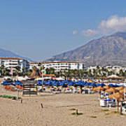 Puerto Banus Beach Poster