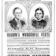 Robert Houdin (1805-1871) Poster