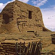 Ruins Of The Pecos Pueblo Mission Poster