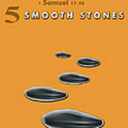 5 Smooth Stones Poster