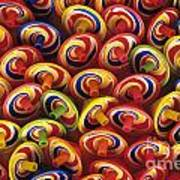 Spinning Tops Poster