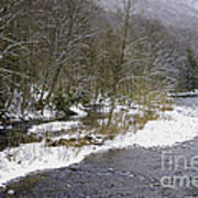 Spring Snow Williams River  Poster