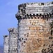 The Crusader Castle Krak Des Chevaliers Syria Poster