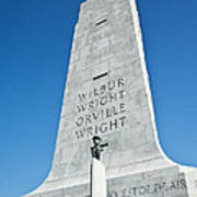 Wright Brothers National Memorial Poster