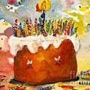 50 Candles The Big B Day Poster