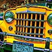51 Jeepster Poster