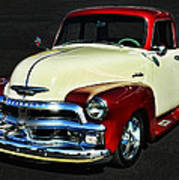 '54 Chevy Truck Poster