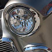 55 Bel Air Headlight-8200 Poster