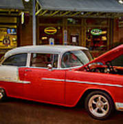 55 Chevy Belair Poster