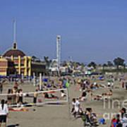 558 Pr Santa Cruz Main Beach Poster