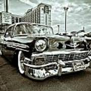 56 Chevy Poster by Merrick Imagery