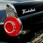 56 Ford Thunderbird Poster