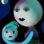 569 - Moonmotherchild Poster