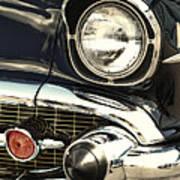 57 Chevy Headlight Poster